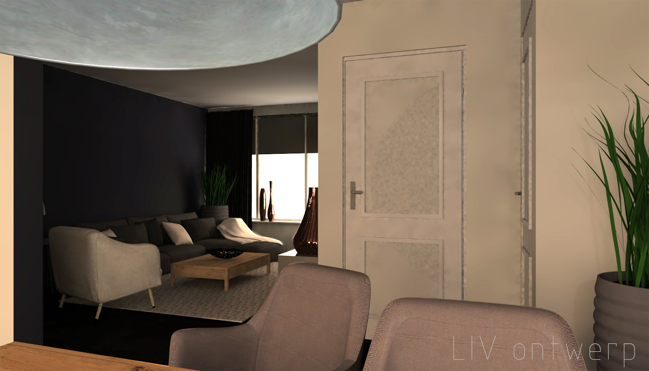 Woonkamer 3d Online. Affordable Full Size Of Modern Wallpaper ...